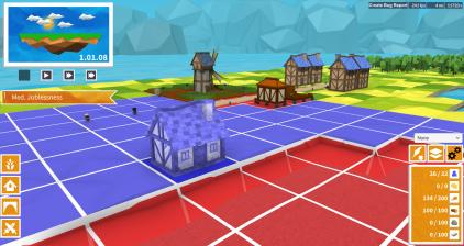 Blueprint build mode